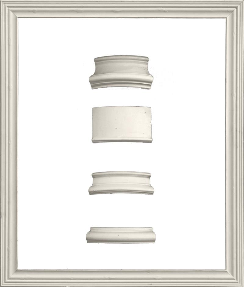 Antiker glatter Kacheloefen (zerlegt) 3